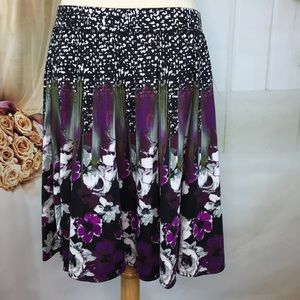 Grace Elements Loganberry Skater Skirt